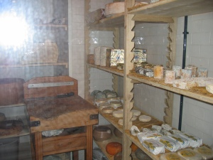 Cheese storage Gusto, Rome
