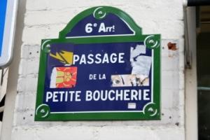Passage of little butcher